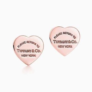 Tiffany&Co Rubedo Heart Earrings